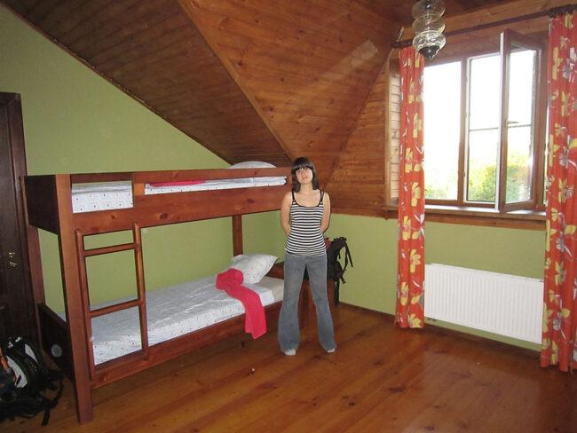Habitacion del Godzilla Hostel en Suzdal.
