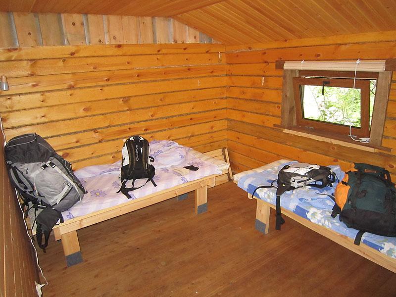 Habitación de Lesnaya 7.