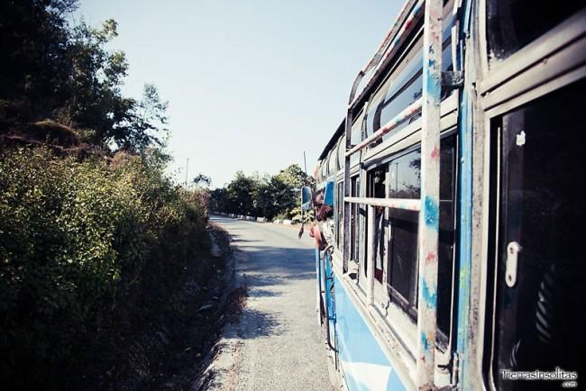 autobus a nayapul