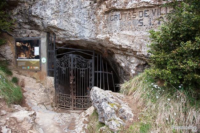 entrada cueva de las güixas