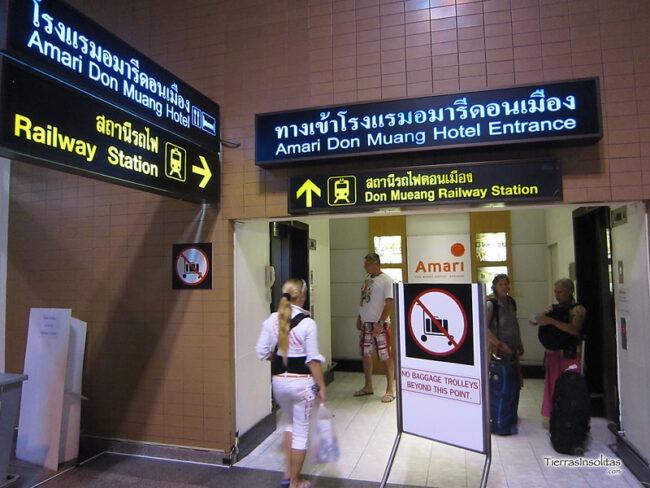aeropuerto DON MUEANG a la estación de bus MO CHIT