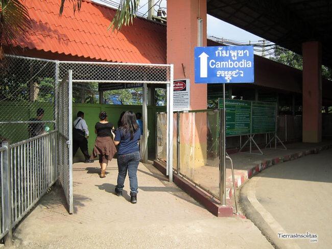 de bangkok a siem reap