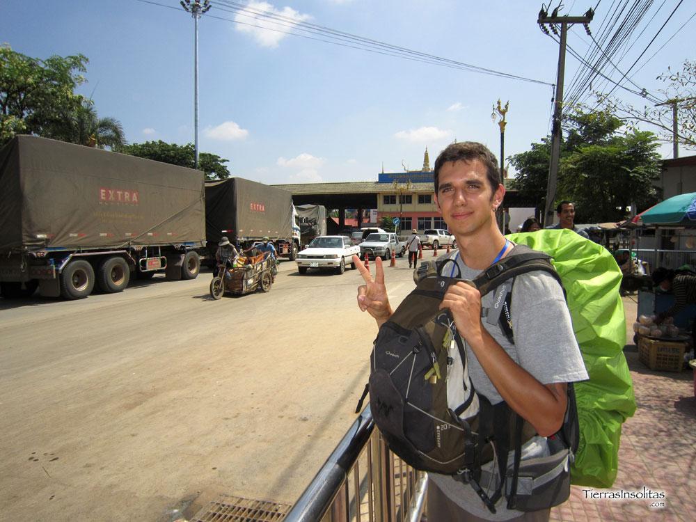 De Siem Reap a Bangkok (cruzando la frontera a pie por Poipet)