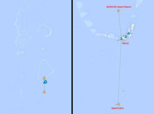 ruta maldivas por libre