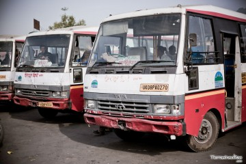 de MUSSOORIE hasta AMRITSAR en bus