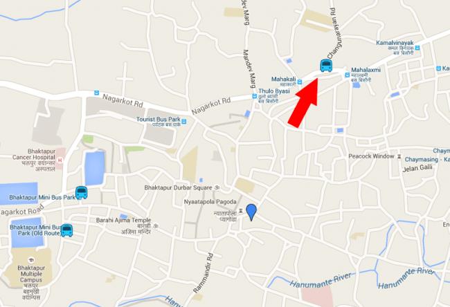 bus-bhaktapur-changunarayan
