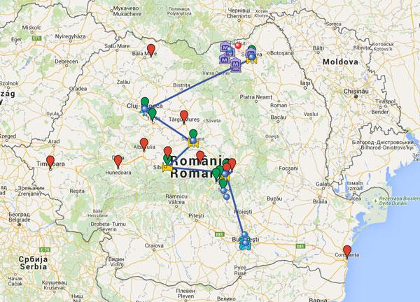 mapa-ruta-rumania