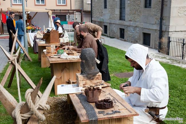 campamento medieval en vitoria-gasteiz