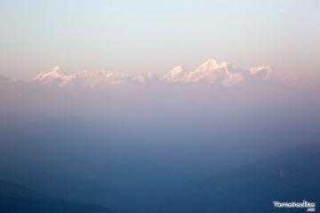 himalayas desde nagarkot
