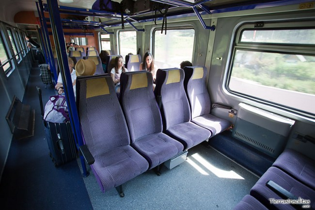 trenes en rumania