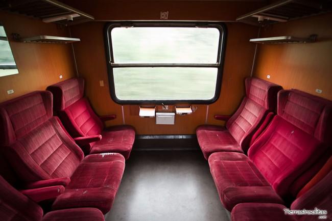 vagón 1 clase en rumanía