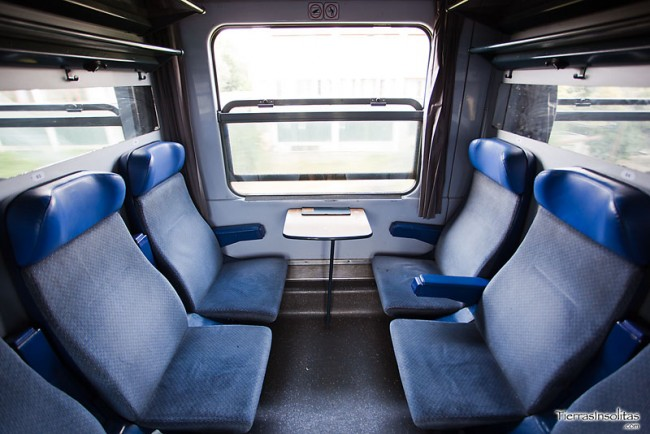 ruta en tren por rumanía