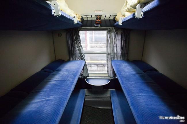 vagón literas