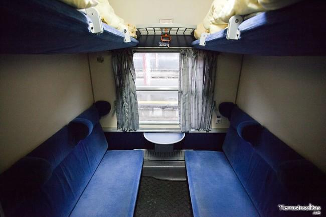 literas y asientos trenes rumanía