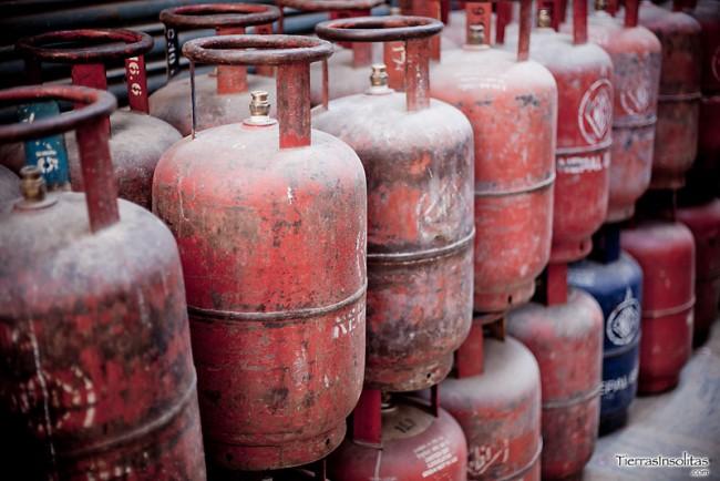 bloqueo de gas