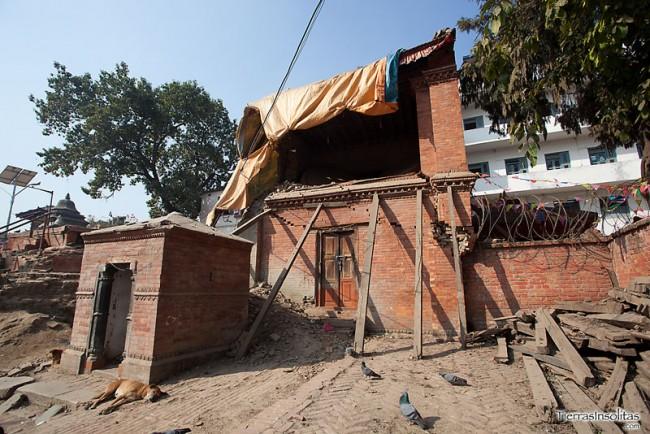 terremoto en durbar square