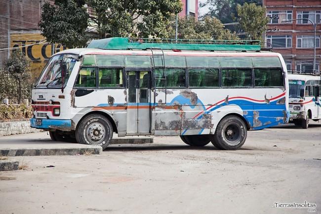 local bus nepal