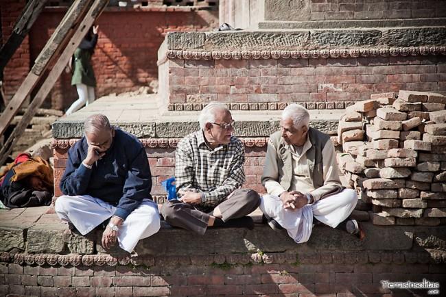 reunidos en durbar square