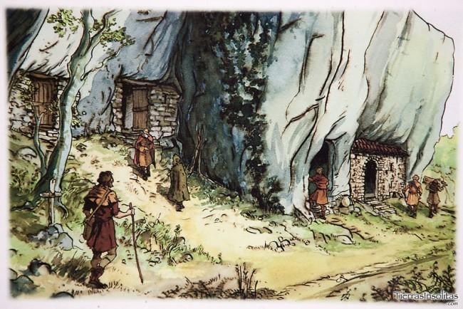 ilustración viviendas