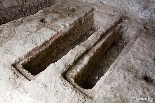 tumbas en las gobas