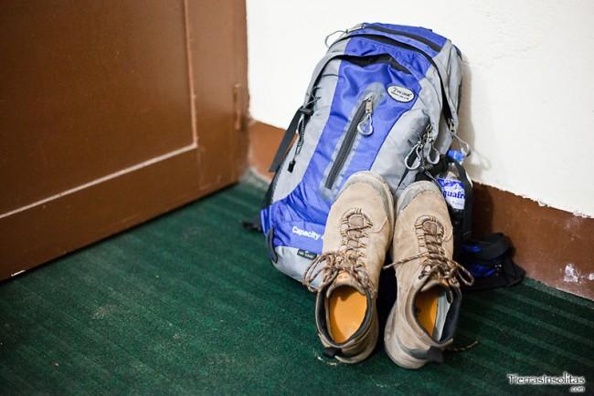 mochila trekking nepal
