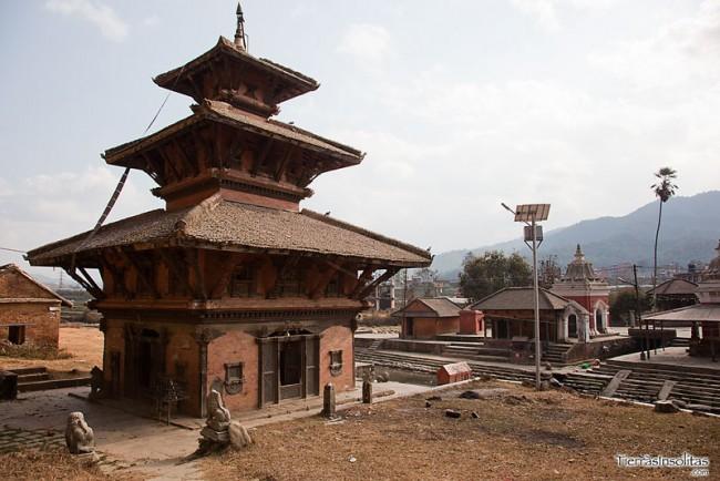 templos en panauti
