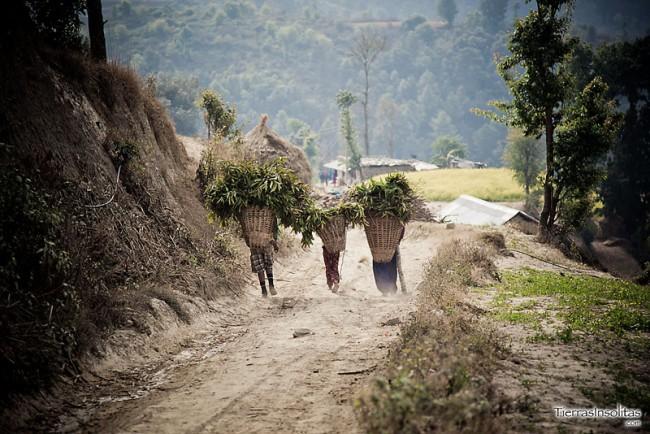 poblados trekking nagarkot dhulikhel