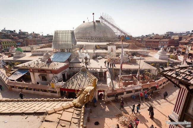 vistas de boudhanath