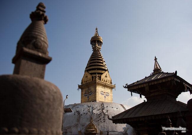 estupa de swayambhunath