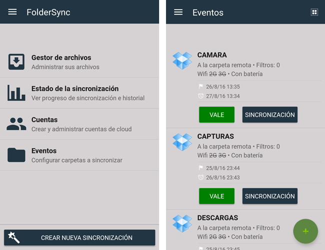 app foldersync