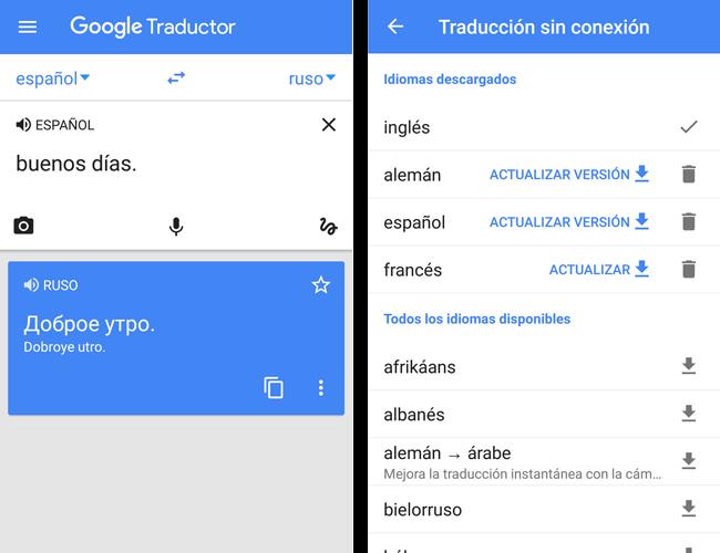 app traductor google