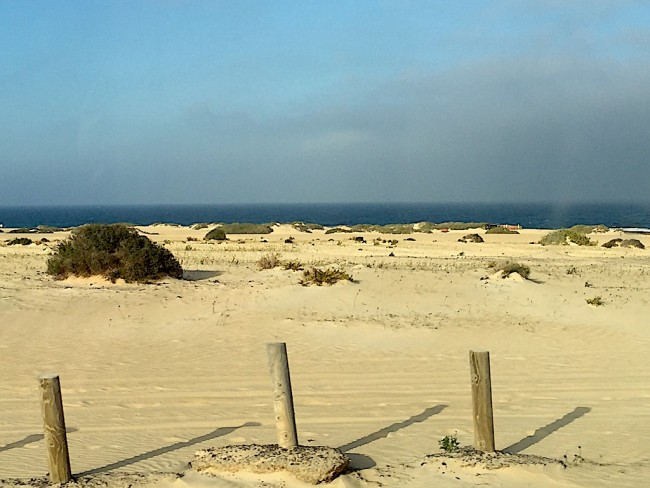 viajar en furgoneta en semana santa a Fuerteventura
