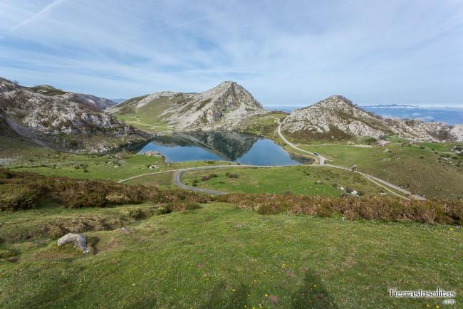 lago enol covadonga
