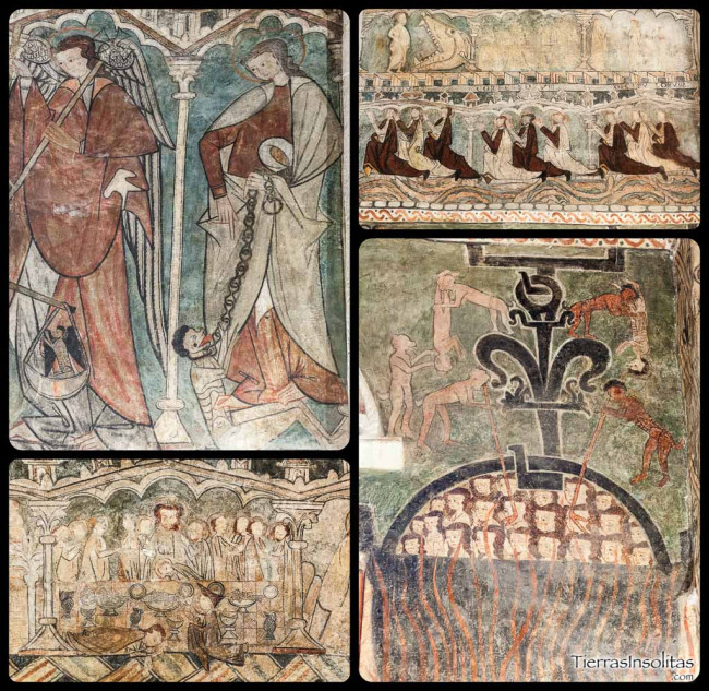 escenas religiosas iglesia de gaceo