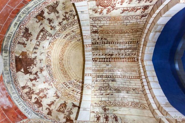 pinturas medievales en alaiza