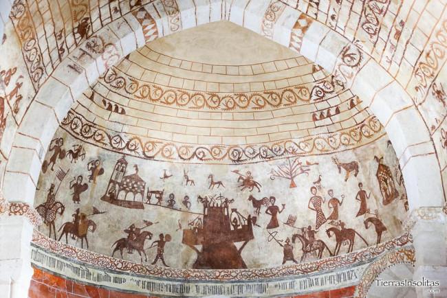 pinturas murales iglesia nuestra señora de la asunción alaiza