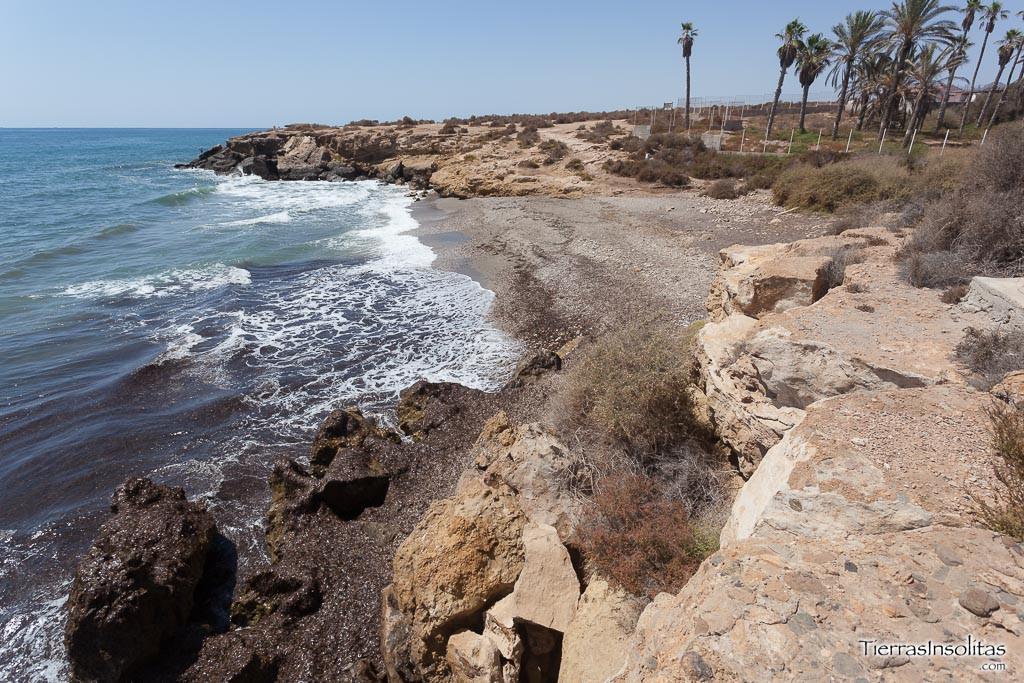 playa canina la canada del negro aguilas
