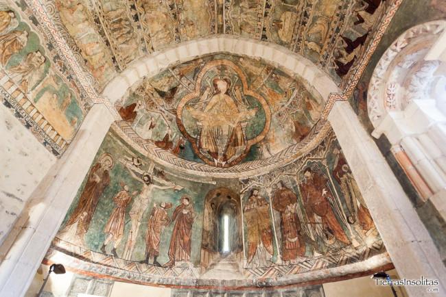detalle pinturas medievales gaceo