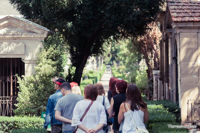 visitas guiadas al cementerio de Santa Isabel