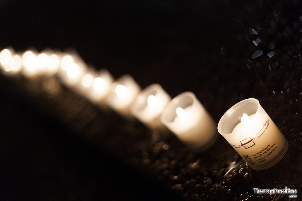 noche de las velas en vitoria