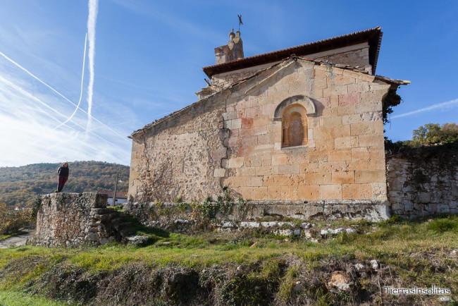ventana absidial iglesia de san juan