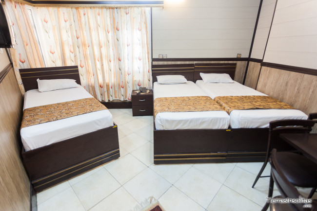 hotel mahan en qom