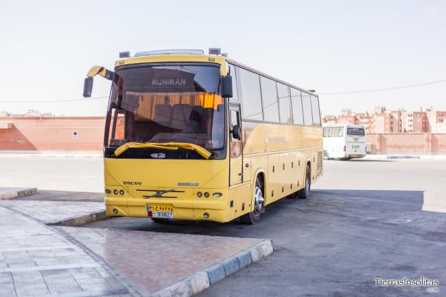 autobús mahmooly en irán