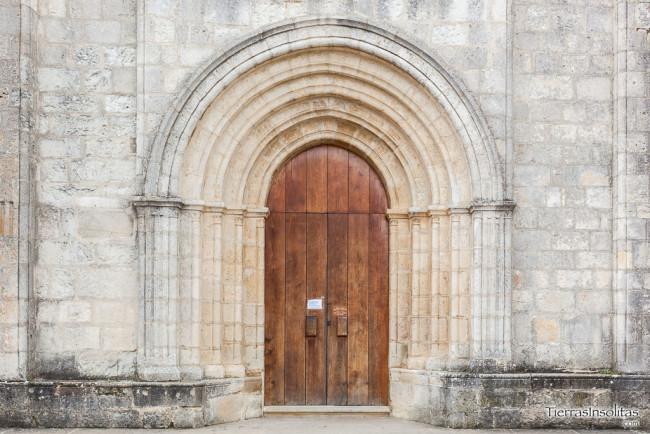 portada sur monasterio nuestra señora estíbaliz