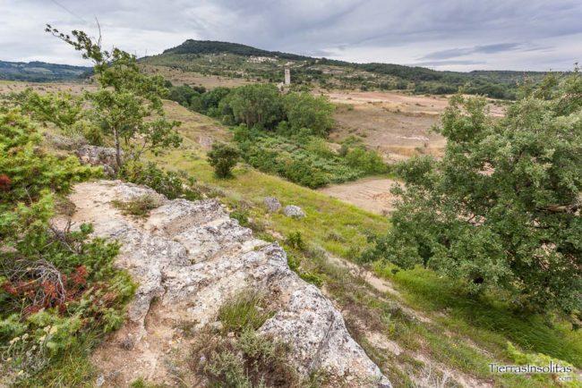 necrópolis en ochate condado de treviño
