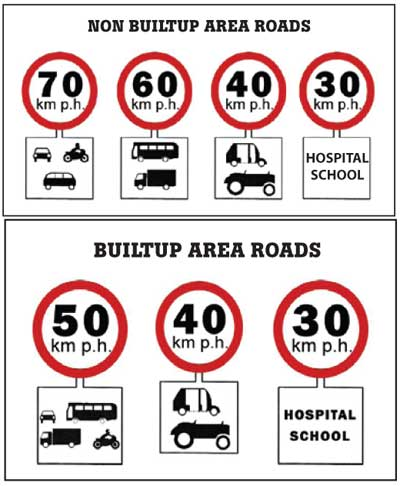 limites velocidad vehiculos