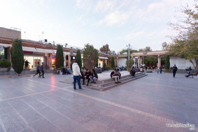 plaza jolfa barrio armenio