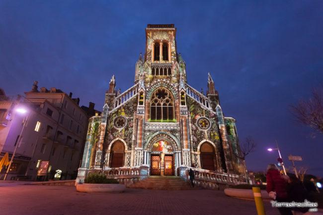 iluminación navidad biarritz