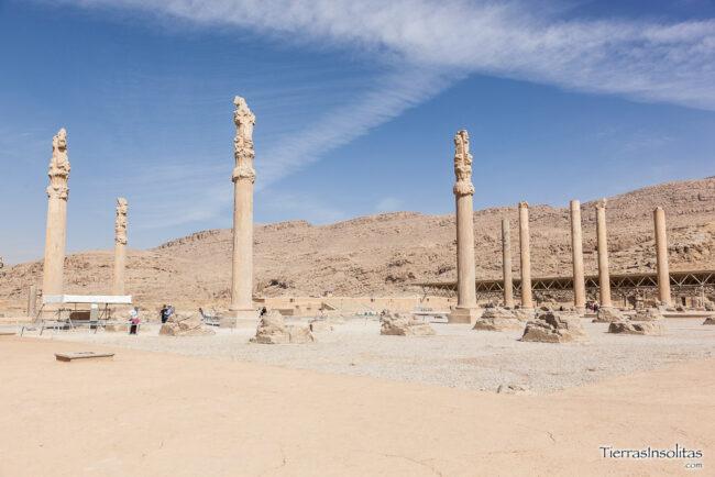 columnas persépolis