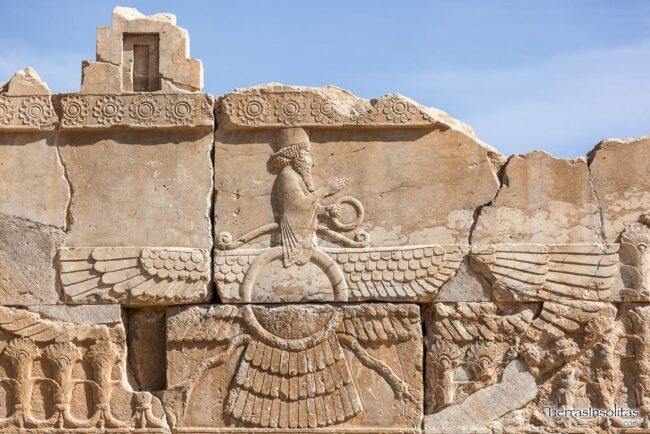 símbolo persépolis irán